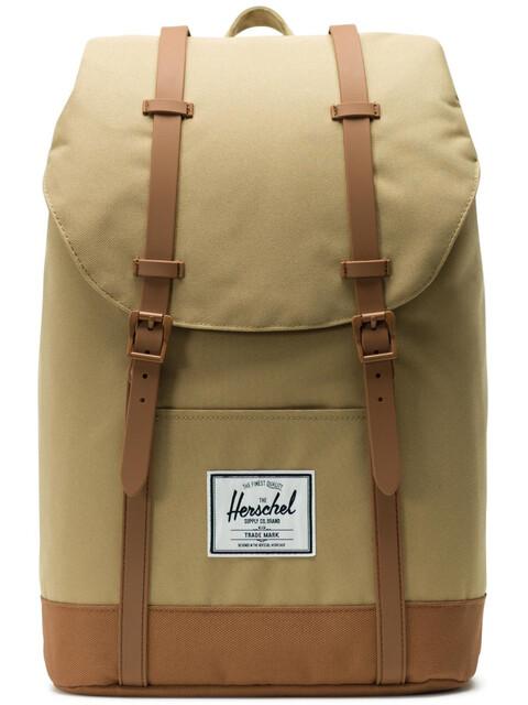 Herschel Retreat Backpack 19,5l Unisex, kelp/saddle brown